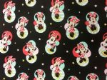 NEW! MINNIE MOUSE DISNEY - Fabric 100% Cotton - Price Per Metre